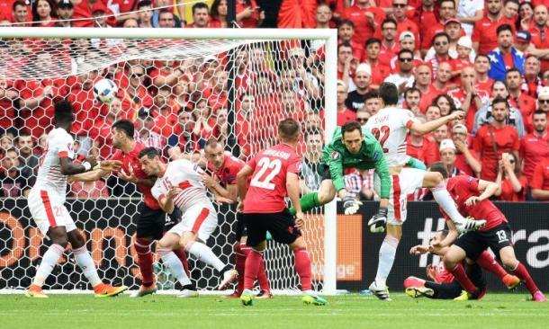 Il gol che ha deciso Svizzera-Albania, notizie-sport.it