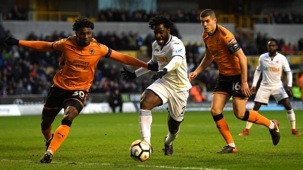 Swans y Wolves se verán las caras en el Liberty   Foto: Swansea City.