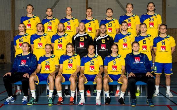 Selección sueca. Foto EHF.