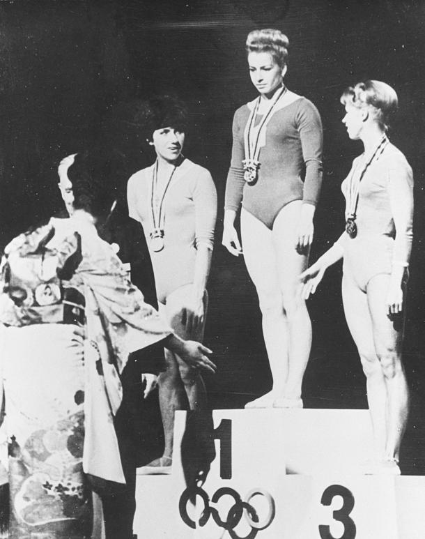 A ginasta Larisa Latynina entra para a história com 18 medalhas olímpicas (Foto: olympic.org)