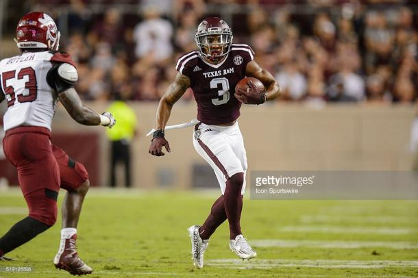 Texas A&M receiver Christian Kirk is one of the nation's most electric players.