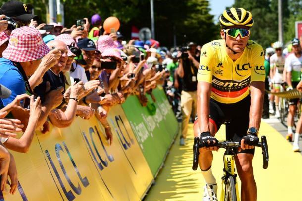 Greg Van Avermaet quiere aguantar el amarillo | Foto: Tour de Francia