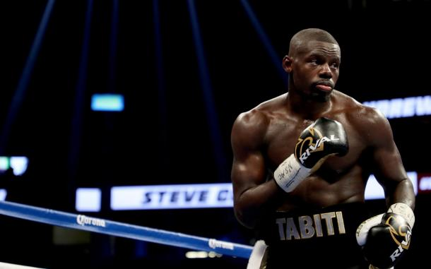 Tabiti durante un momento del combate. Fuente: Getty Images