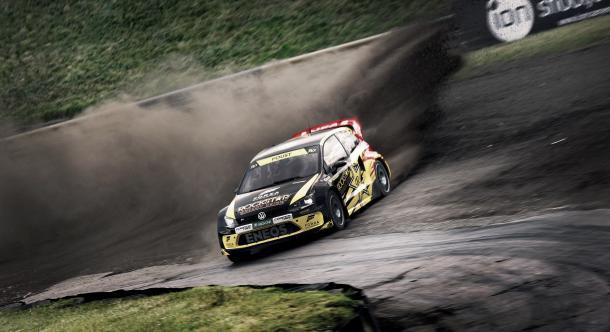 Repetindo participações anteriores, Foust competirá com um Volkswagen Polo RX | Foto: FIA World Rallycross