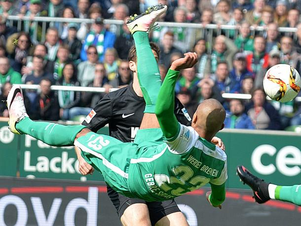 It was a hard-fought game at the Weserstadion. | Photo: Picture Alliance