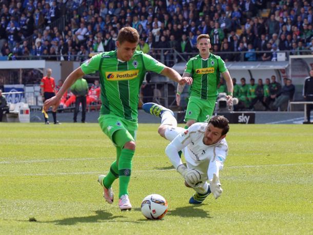 Hazard opens the scoring.   Image source: kicker - Getty Images