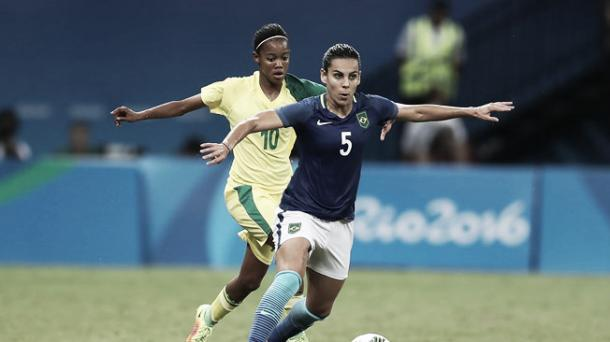 Thaisa defended well for Brazil | Getty Images
