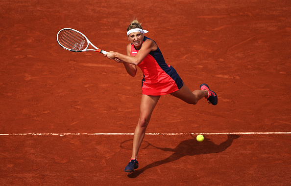 Bacsinszky is a serious contender to win the title in Paris (Photo by Julian Finney / Getty)