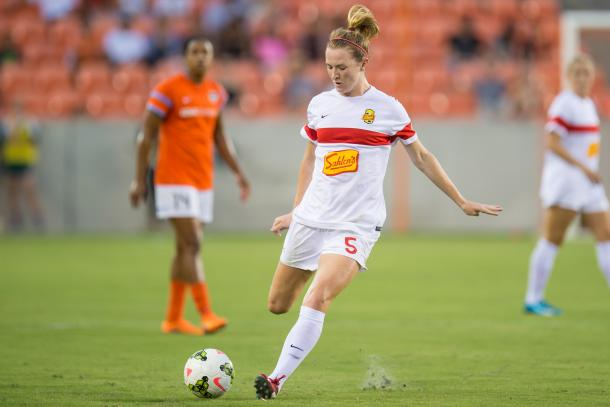 McCall Zerboni will make a dynamic duo with Samantha Mewis in the WNY midfield (Trask Smith)