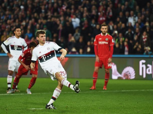 Can Müller make the difference against Atléti? | Image source: kicker - Getty Images