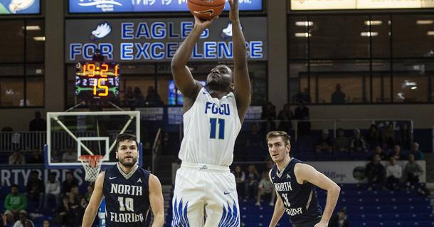 Casimir has excelled for FGCU after transferring from Iona/Photo: Florida Gulf Coast athletics website
