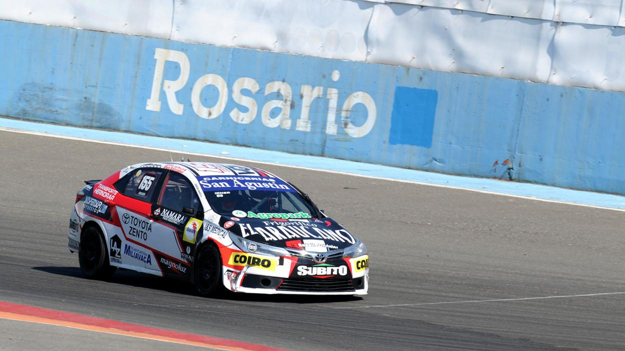 Gaston Iansa consiguiendo su segunda victoria: Foto Prensa TN
