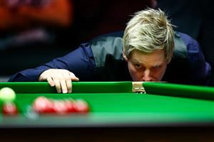 Robertson eyes victory (photo : Live Snooker )