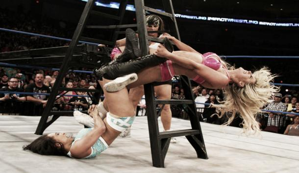 Women's ladder matches have worked before. Photo-TNA Wrestling
