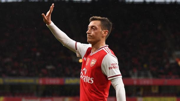 El tiempo de Özil en Arsenal parece haber terminado. Foto: Premier League