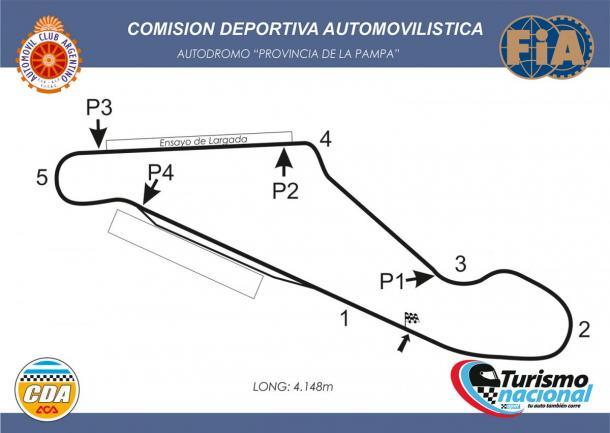 Circuito de Toay, La Pampa. Foto: APAT.