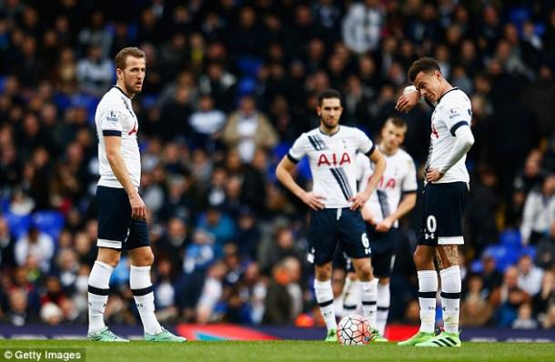 Spurs were frustrated all afternoon by a lack of clinical finishing. | Image source: Getty Images