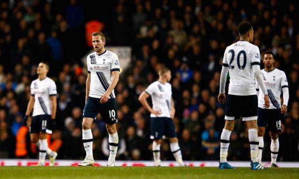 Tottenham dejected. | Image: Julian Finney/Getty Images