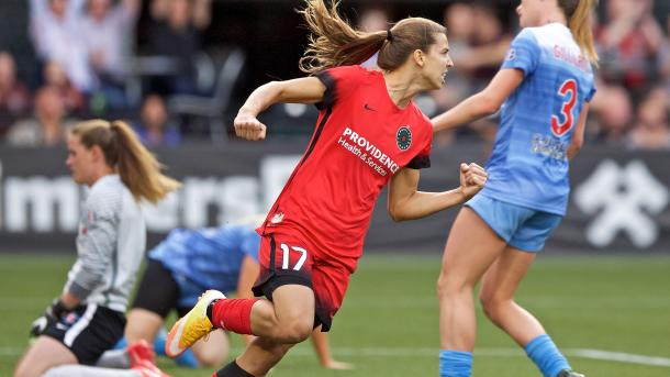 A healthy Tobin Heath puts defenses on alert | Source: Craig Mitchell Dyer - ISI Photos