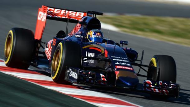 Toro Rosso 2015. Foto: Instagram Carlos Sainz