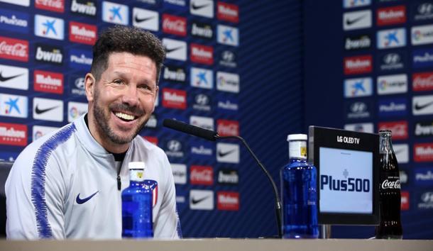 Diego Simeone en rueda de prensa | Atlético de Madrir
