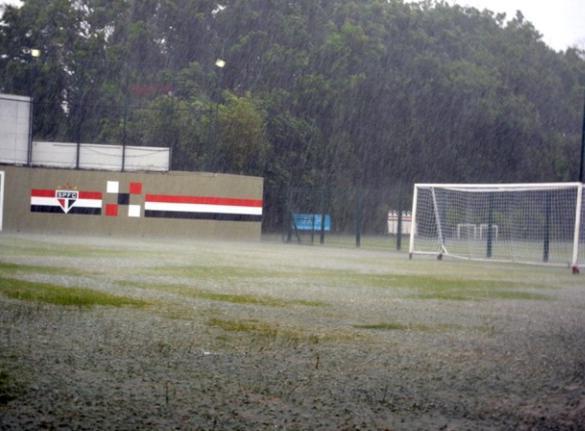 CT do São Paulo na última quarta-feira (Foto: Divulgação/São Paulo FC)