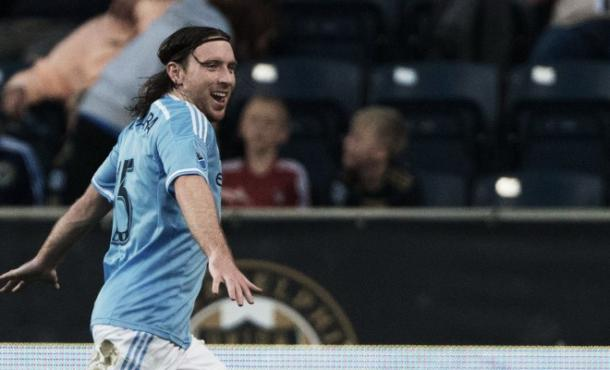 Tommy McNamara has one goal in two games so far this season for New York City FC / Kelley L Cox - USA TODAY Sports