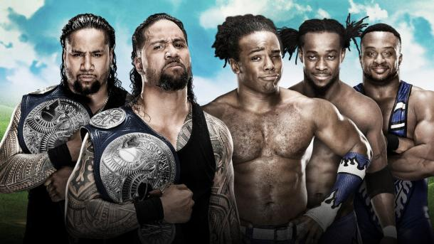 Can The Usos defend their titles? Photo-WWE.com