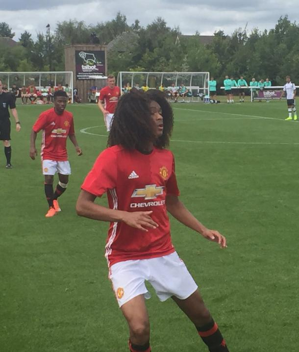 Tahith Chong is one of the under-18s' new signings this summer | Photo: MrMujac/Twitter