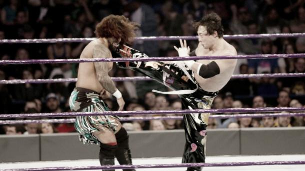 Tajiri returned to WWE. Photo- WWE.com