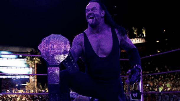 Could Undertaker walk into WrestleMania with gold? Photo: WWE.com