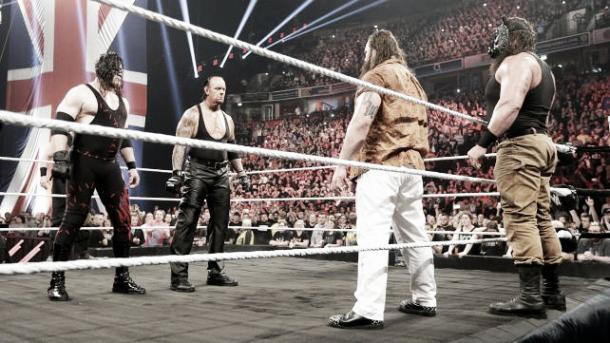 Strowman and Undertaker have history. Photo-Daily DDT.