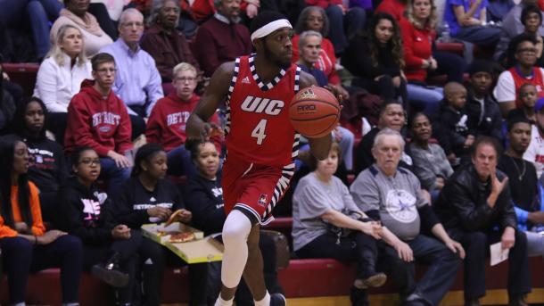 Ferguson leads a dangerous backcourt for UIC/Photo: Ricky Lindsay/Illinois-Chicago athletics