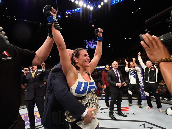 Miesha Tate is the new champion! | Photo: John Hedges