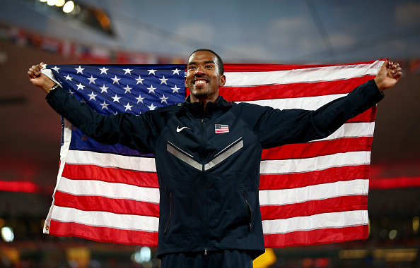 Christian Taylor became the second longest jumper of all time at the World Championships last year (Getty/Ian Walton)