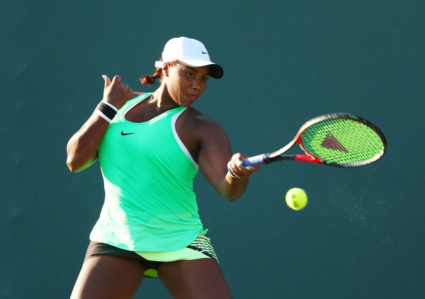 It was all about Taylor Townsend today | Photo: Al Bello/Getty Images North America