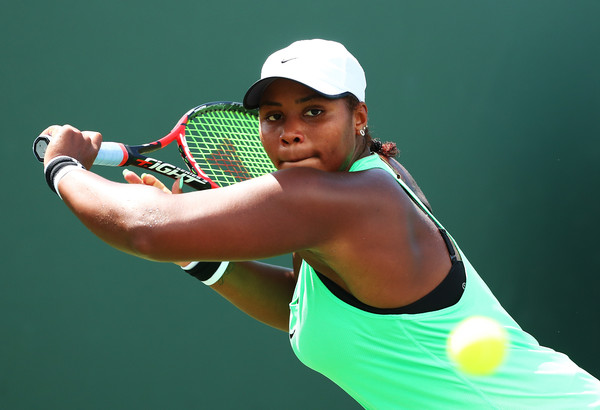 Taylor Townsend was clinical today | Photo: Al Bello/Getty Images North America