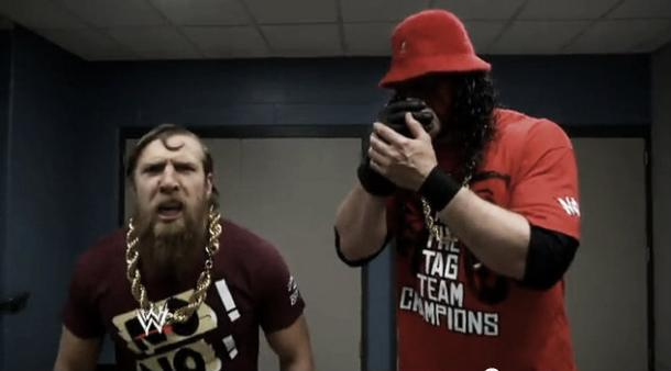Kane during his time with Daniel Bryan as Team Hell No (image: ewrestling-news.)