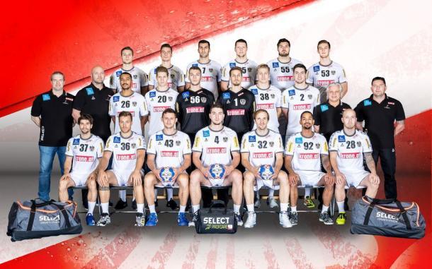 Selección austriaca. Foto: EHF.