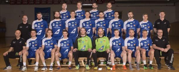 Selección islandesa. Foto: EHF.