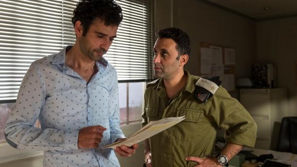 Los protagonistas de la película, Salam y Assi. Imágen obtenida del tráiler de la película