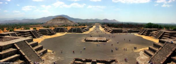 Vista de las pirámides de Teotihuacan | MXCity