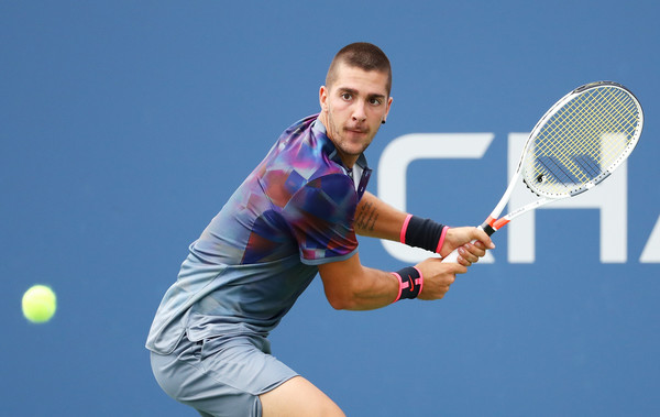 Kokkinakis in action at the US Open | Photo: Al Bello/Getty Images North America