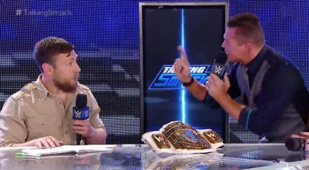 The Miz is deserving of title-talk (image: brobible)
