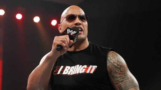 WWE do not need The Rock to layeth the Smacketh down anymore (image: skysports)