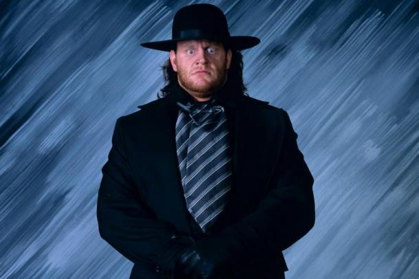 The Undertaker was a frightening figure right from his debut (image: wwe)