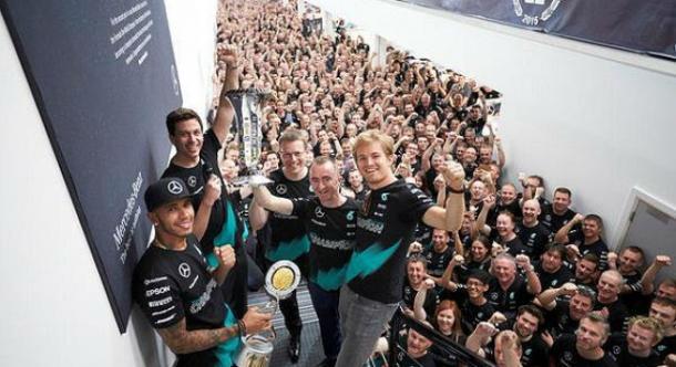Fuente: Mercedes AMG F1