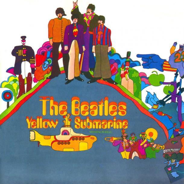Portada de Yellow Submarine | Fuente: The Beatles
