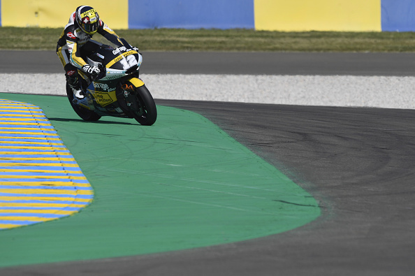 Thomas Luthi took Moto2 pole | Photo by Mirco Lazzari gp/Getty Images