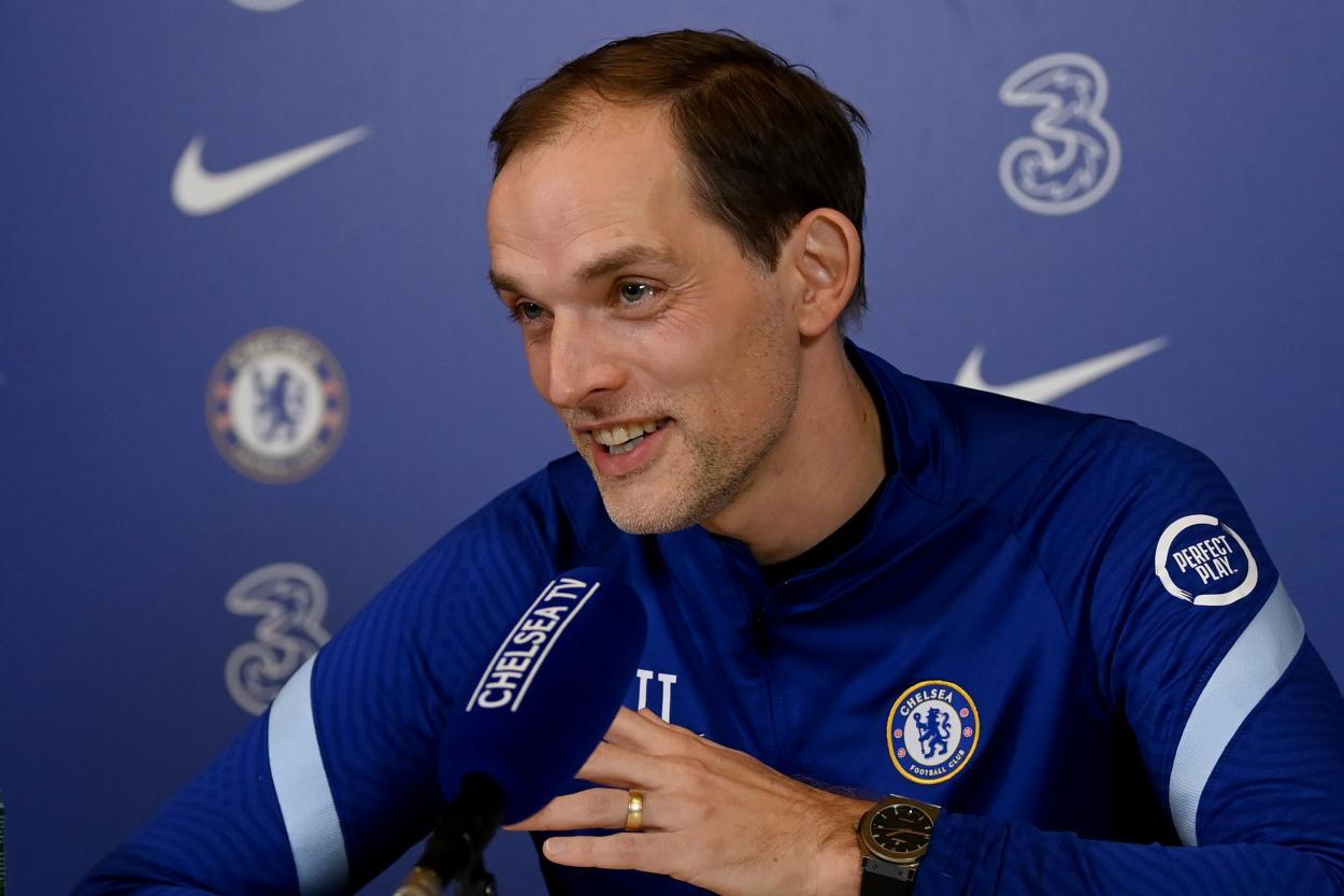 Thomas Tuchel, sensato con la prensa británica   Foto: Chelsea FC